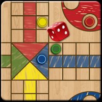 Ludo Parchis Classic Woodboard