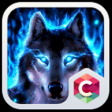 Ice Wolf Theme C Launcher