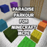 Paradise Parkour map for MCPE
