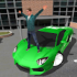 Crime race car drivers 3D