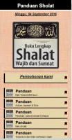Panduan Sholat Fardu & Sunnah for PC