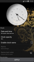 My Name Clock Widget for PC