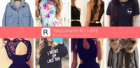 Romwe shopping-women fashion for PC