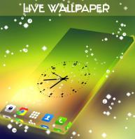 Live Wallpaper of Clock for PC