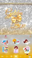 Golden Bow Kika Keyboard Theme for PC