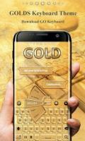 Gold Pro GO Keyboard Theme APK