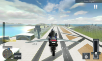 Flying Police Bike Simulator APK
