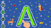 Writing the alphabet for PC