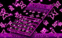 Neon Butterflies Keyboard APK
