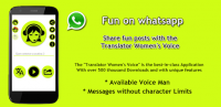 Translator Women's Voice for PC