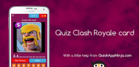 Quiz Clash Royale card for PC