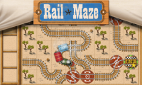 Rail Maze : Train puzzler APK