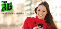 Free 3G Mobile data recharge for PC