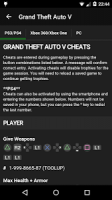 Cheats for GTA APK