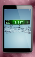 Digital Clock Weather Widget for PC