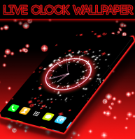Live Clock Wallpaper for PC