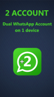 Two account for WhatsApp for PC