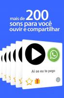 Sons Engraçados pra WhatsApp for PC
