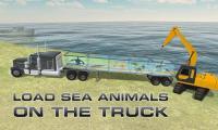 Transporter Truck Sea Animals APK
