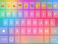 Rainbow Love Emoji Keyboard APK