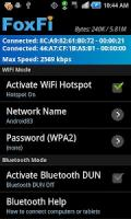FoxFi (WiFi Tether w/o Root) APK