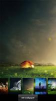 Fireflies lockscreen APK