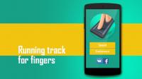 Fingers running track APK