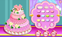 Rose Wedding Cake Game APK
