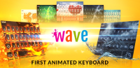 Wave Animated Keyboard + Emoji for PC
