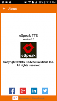 eSpeak TTS Engine - RedZoc for PC