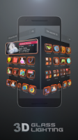 Glass Tech 3D Live Theme APK