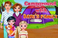 Campground with Dave's family for PC