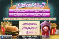 Burger Shop FREE for PC