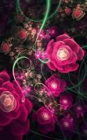 Glowing Flowers Live Wallpaper APK