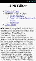 APK Editor APK