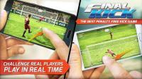 Final kick: Online football APK