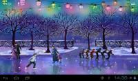Christmas Rink Live Wallpaper APK