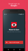 Watch & Earn - Earn Real Money for PC