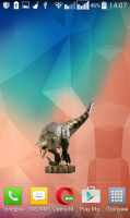 Carnotaurus Dinosaur Widget for PC