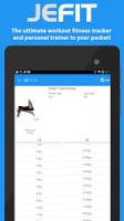 JEFIT Workout Tracker Gym Log APK