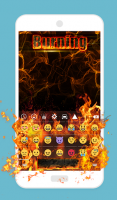 Burning Animated Keyboard for PC