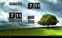 Retro Clock Widget for PC