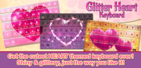 Glitter Heart Keyboard for PC