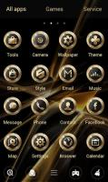 Black Gold GO Launcher Theme for PC