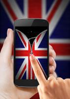 UK Flag Zipper Lock APK