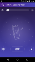 Nighttime Speaking Clock for PC