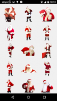 Santa Claus Photo Stickers for PC
