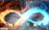 Fire & Ice Live Wallpaper for PC